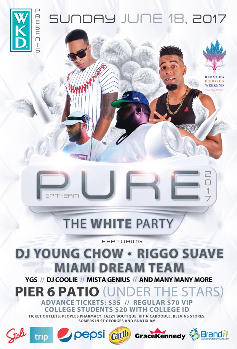 pure the white party set for tomorrow bernews