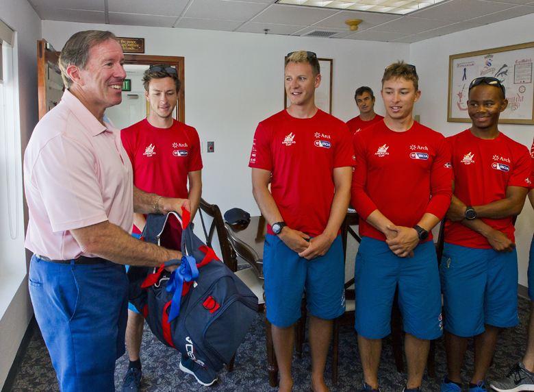 Premier AC Youth Team Bermuda Courtesy Visit June 2017 (2)