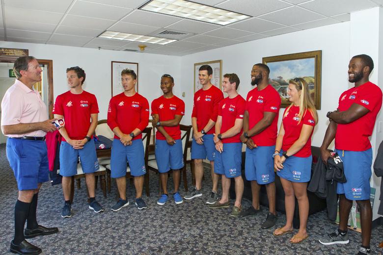 Premier AC Youth Team Bermuda Courtesy Visit June 2017 (3)