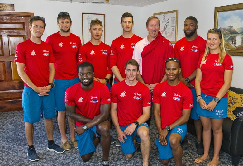 Premier AC Youth Team Bermuda Courtesy Visit June 2017 (4)