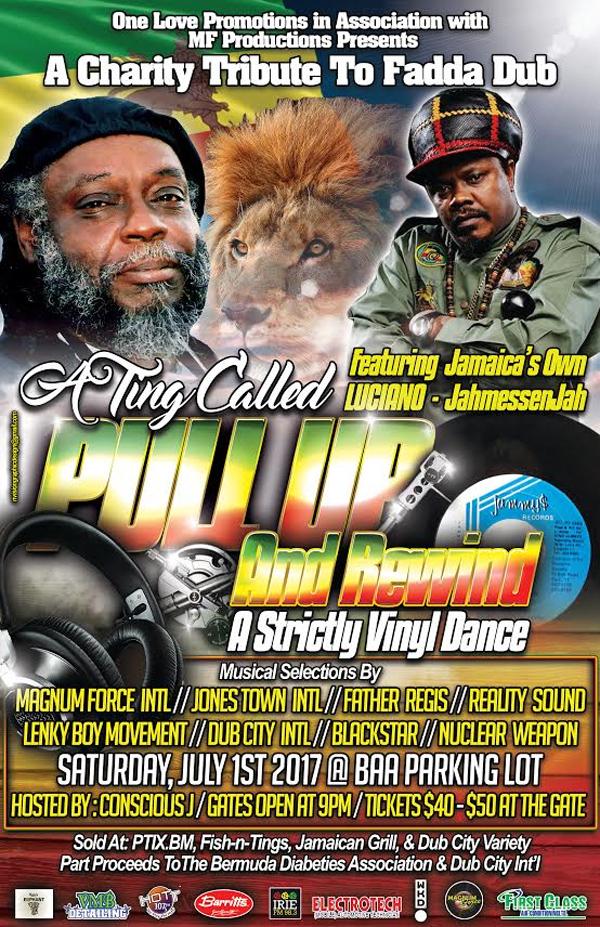 Pull Up & Rewind Bermuda June 2017