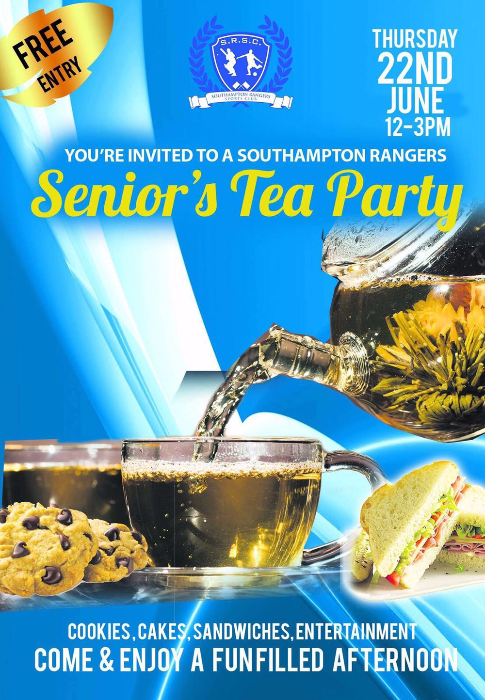 Southampton Rangers Senior's Tea Party  Bermuda June 22 2017