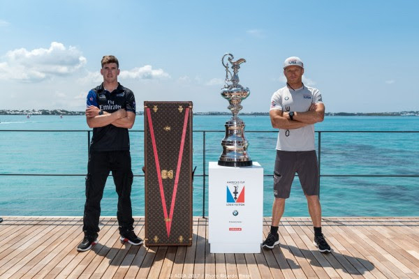 Spithill & Burling Bermuda June 16 2017