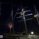 Tall Ships Bon Voyage Festival Fireworks Bermuda, June 4 2017-18