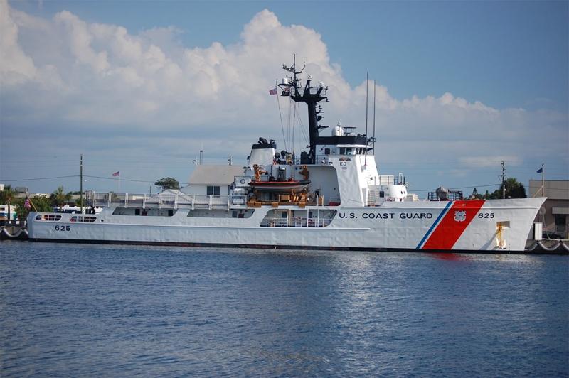 USCG Venturous Bermuda June 2017