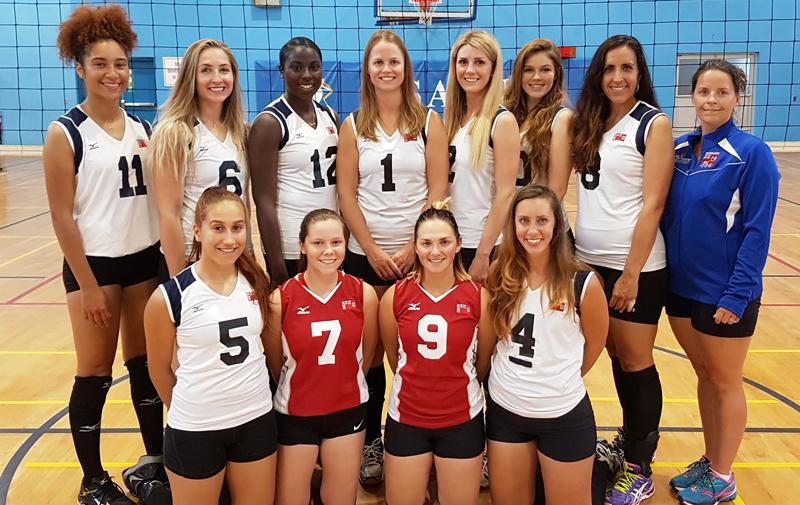 Volleyball Women's Team Bermuda June 2017