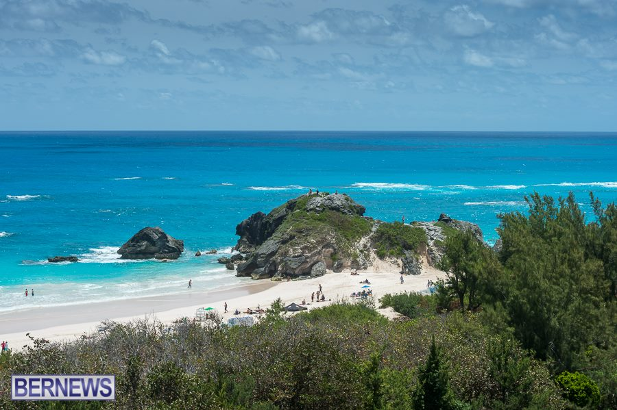 349 The stunning Horseshoe Bay beach, one of the most beautiful beaches in the world.