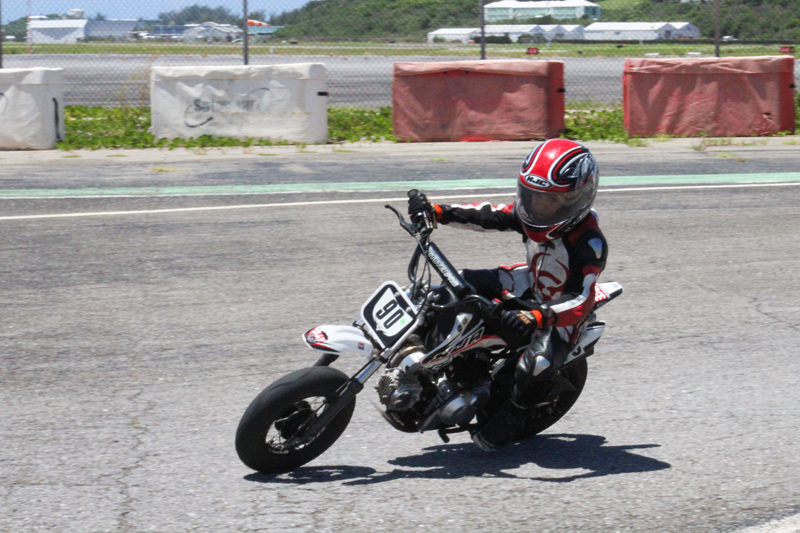 Aeziah Divine (Minibike Junior) Bermuda July 2017