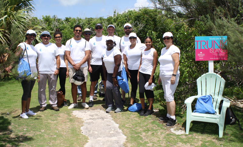 BDA student community service day Bermuda July 26 2017