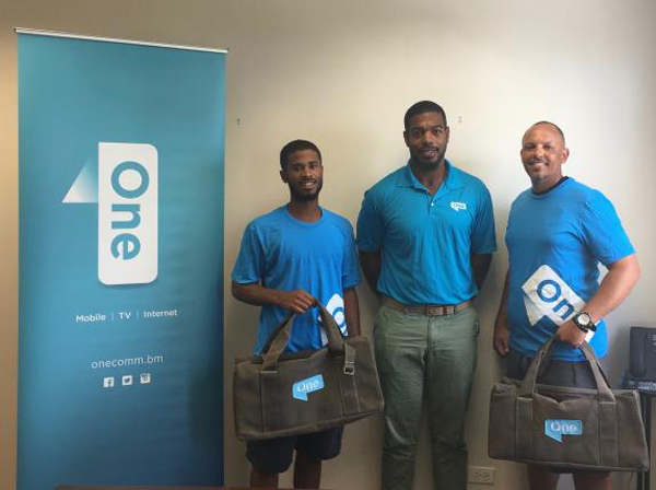 Basden, Tucker and Davis Bermuda July 2017