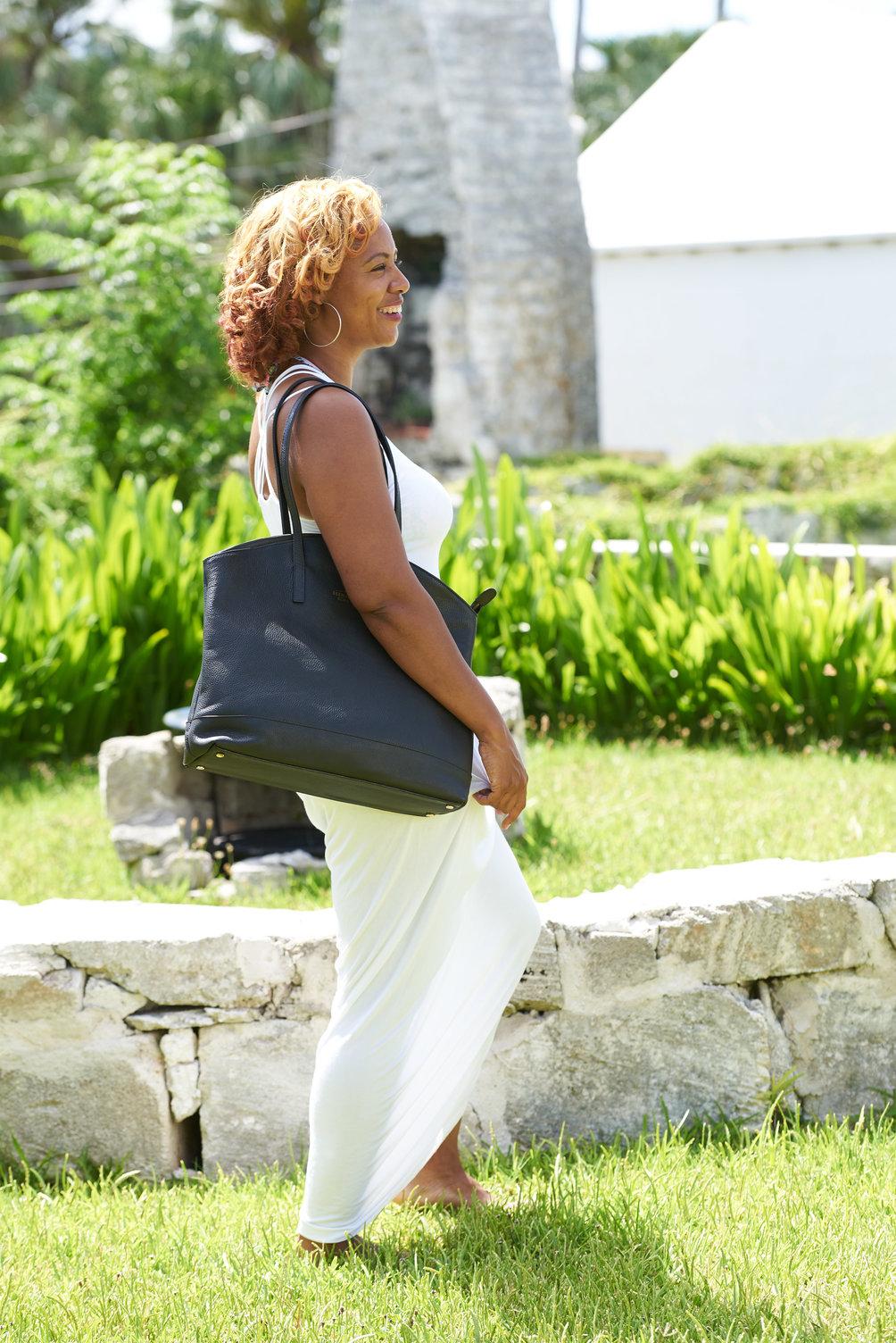 Bermuda Born Warwick Tote Bag