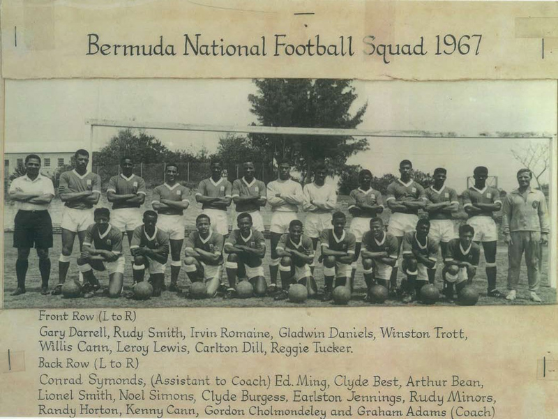 Bermuda National Football Squad 1967, July 2017