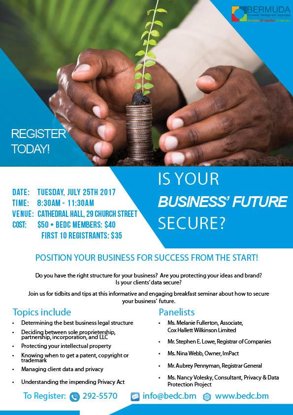 Business Future Secure Bermuda July 19 2017