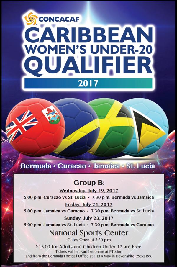 CONCACAF U20 Tournament Bermuda July 2017