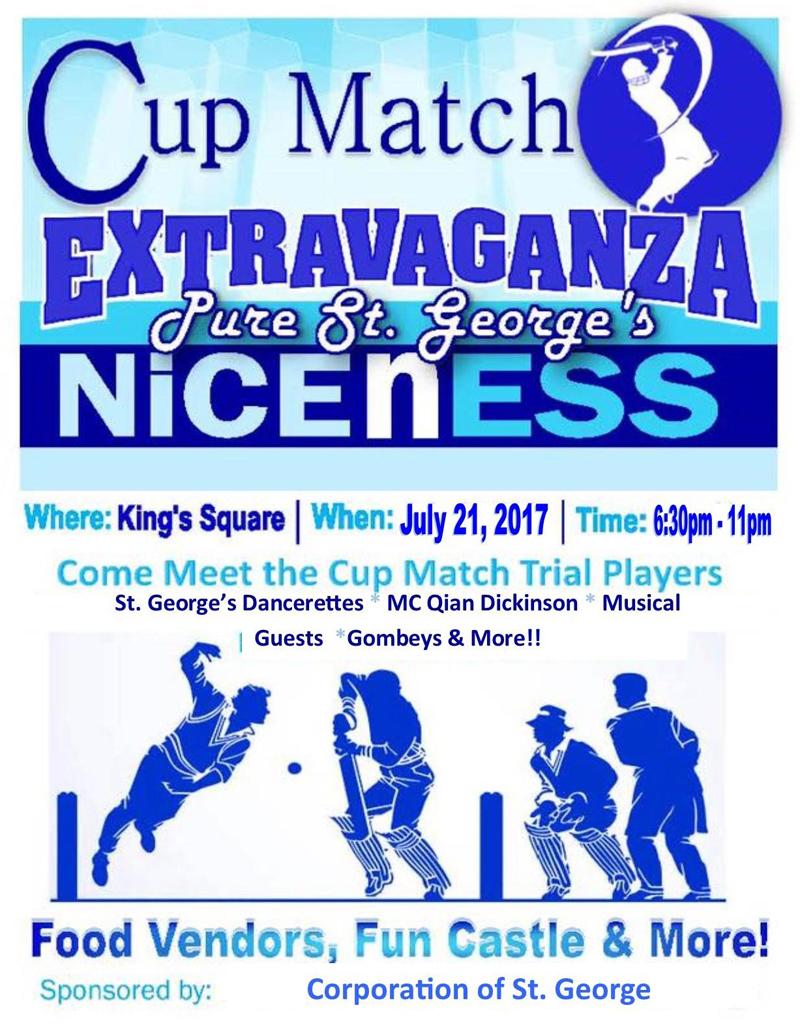 Cup Match Extravaganza Bermuda July 2017