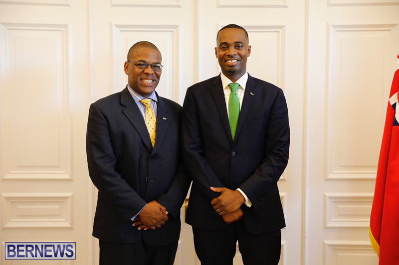 David Burt Sworn In As New Premier Bermuda July 19 2017 (1)