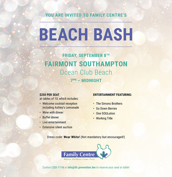 Family Centre Beach Bash Bermuda July 2017