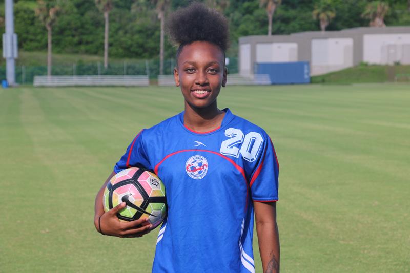 Jahzyiah Samuels Bermuda July 2017