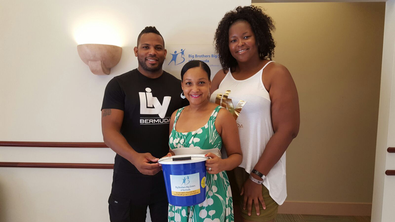 LIV Bermuda Donates To BBBS July 2017