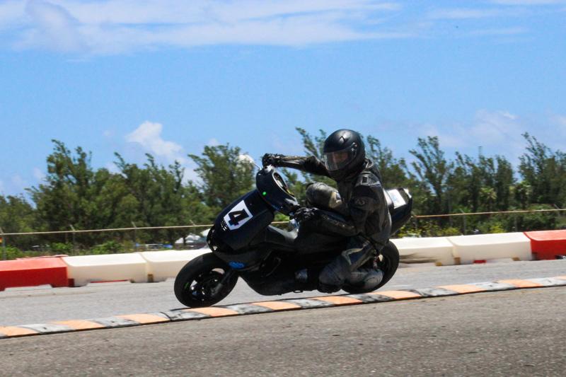 Nasaje Anderson (Scooter 70) Bermuda July 2017