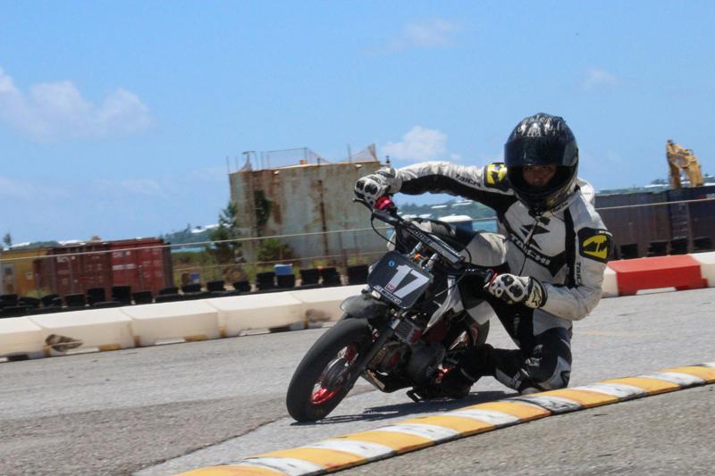 Nathaniel Binega-Northcott (Minibike Senior) Bermuda July 2017
