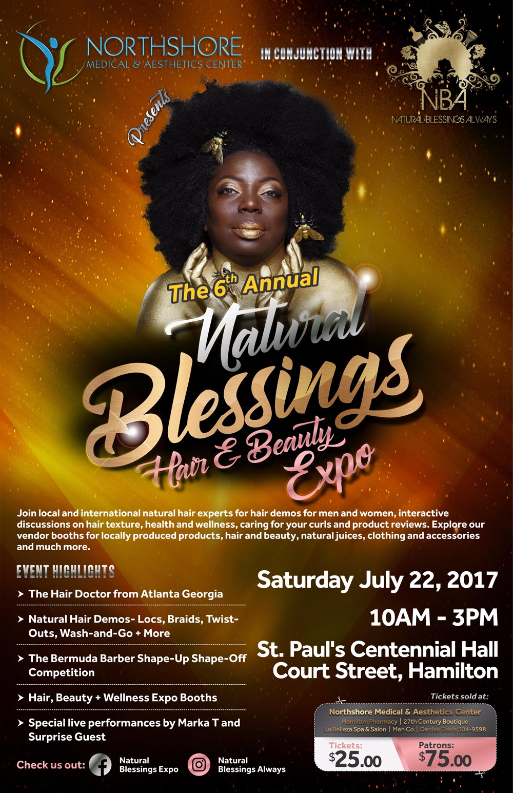 Natural Blessings Expo Bermuda July 22 2017
