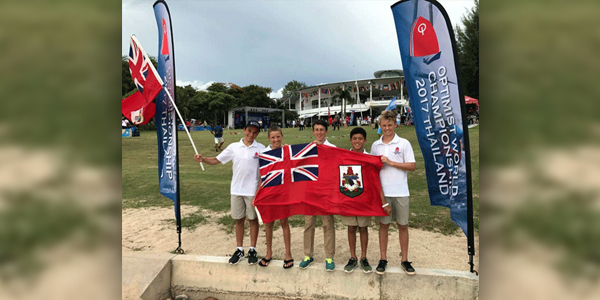 Optimist World Championship Bermuda July 2017 TC