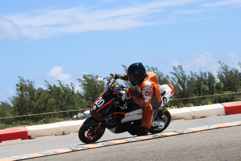 Ricky Wade (Scooter 70) Bermuda July 2017