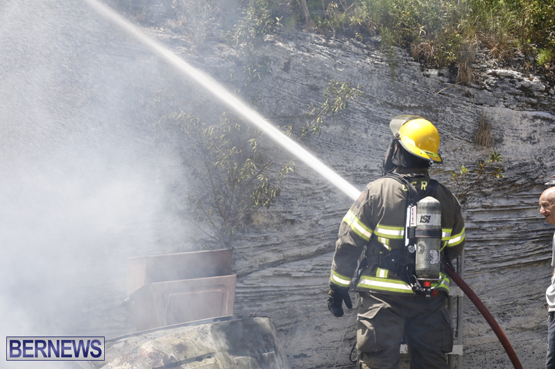 Structural fire at 11 Turk's Head Lane Bermuda July 14 2017 (6)