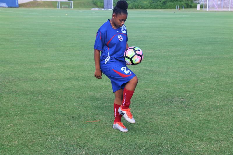 Trinae Edwards Bermuda July 2017