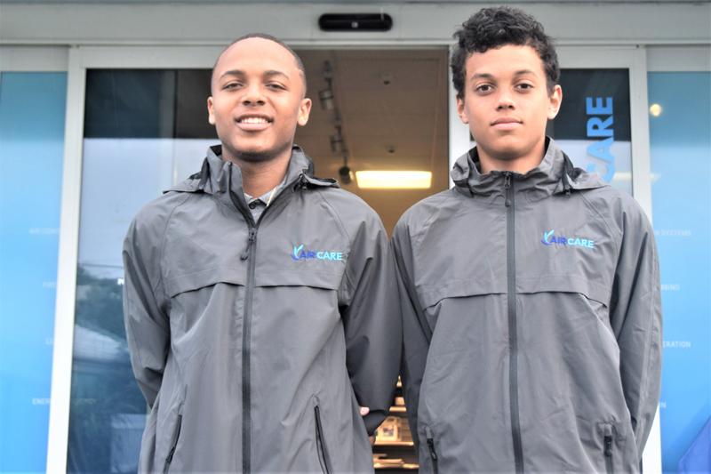 Zhuri Burgess and Stephon Paynter Bermuda July 2017