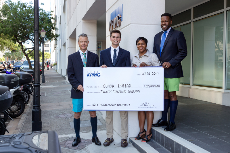 2017 KPMG Scholarship Winner Bermuda Aug 2017