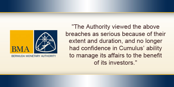 BMA Bermuda Monetary Authority August 11 2017 TC