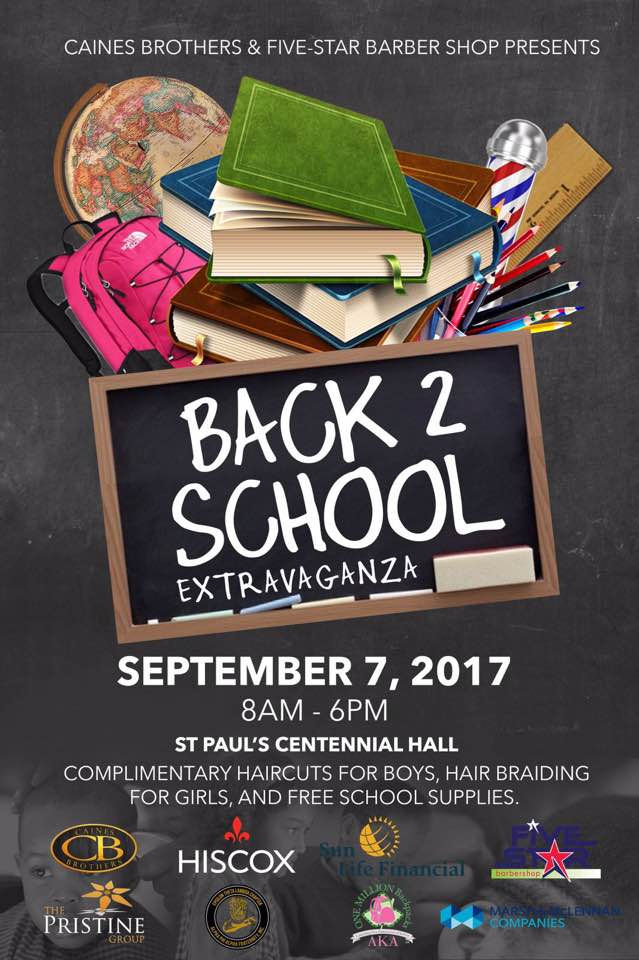 Back 2 School Extravaganza Bermuda August 24 2017
