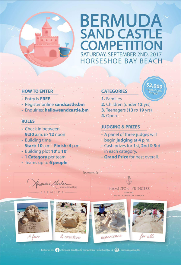 Bermuda Sand Castle Competition Aug 2017 (1)