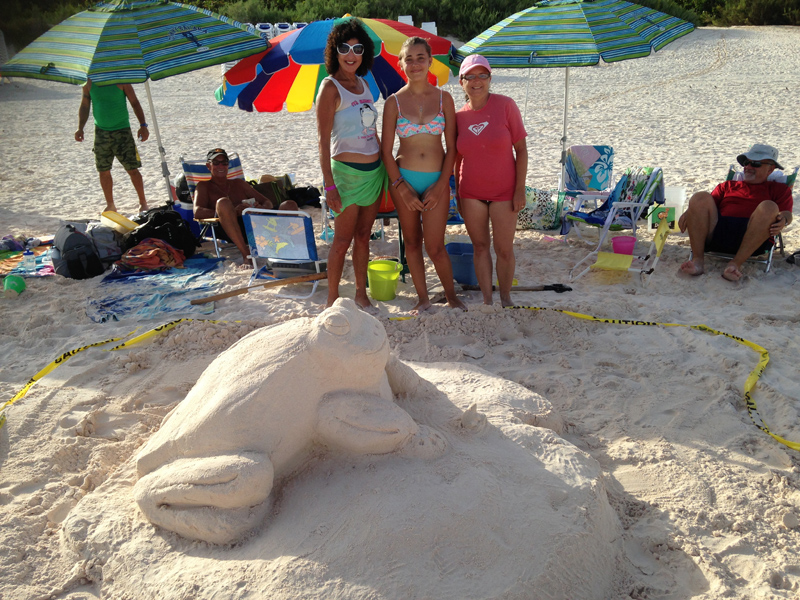 Bermuda Sand Castle Competition Aug 2017 (5)