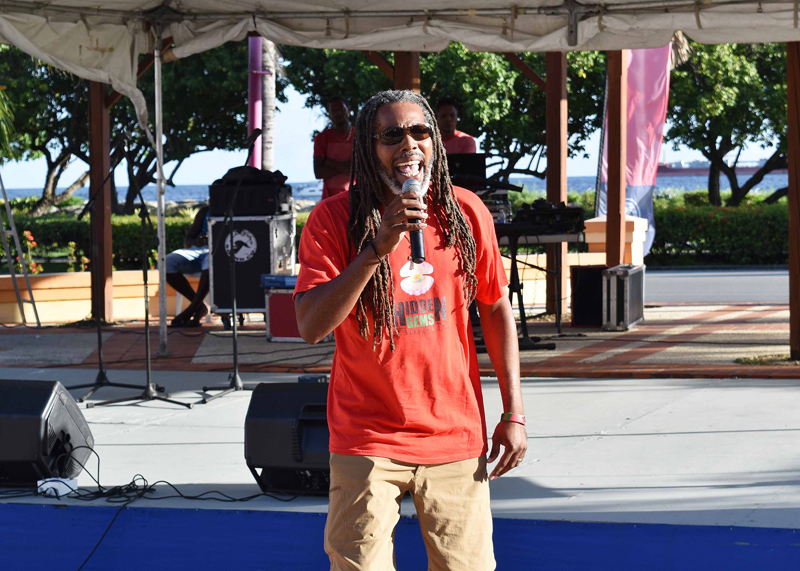 Carifesta 2017 Arijahknow Live Wires, Pelican Village e