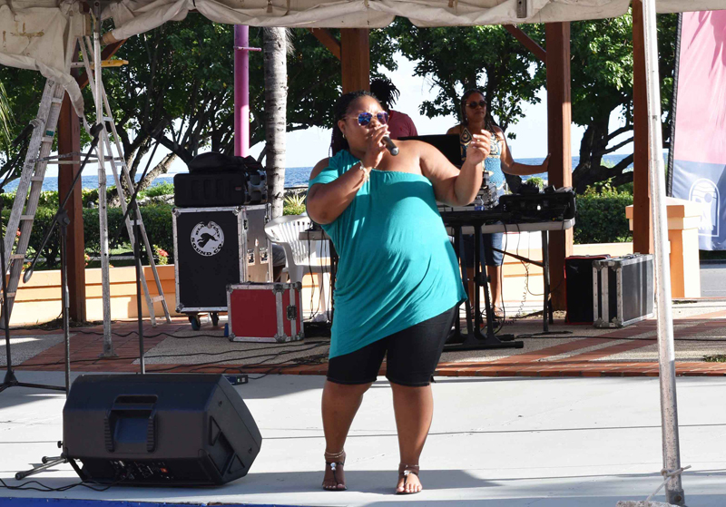 Carifesta 2017 Cindy Smith, Pelican Village e