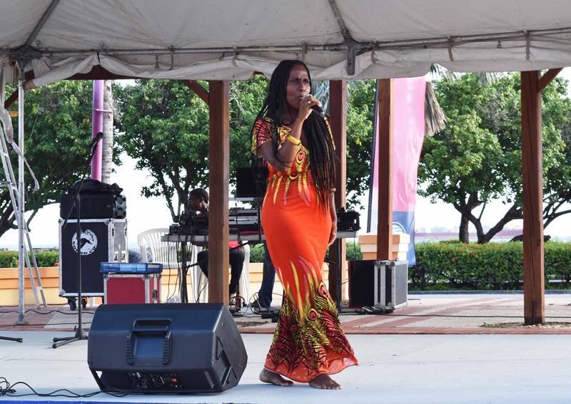 Carifesta 2017 Joy T. Barnum, Pelican Village e