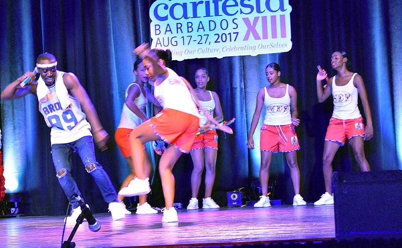 Carifesta 2017 Rikkai & UDP Dancing Gombeys, Cumbemere Schoole