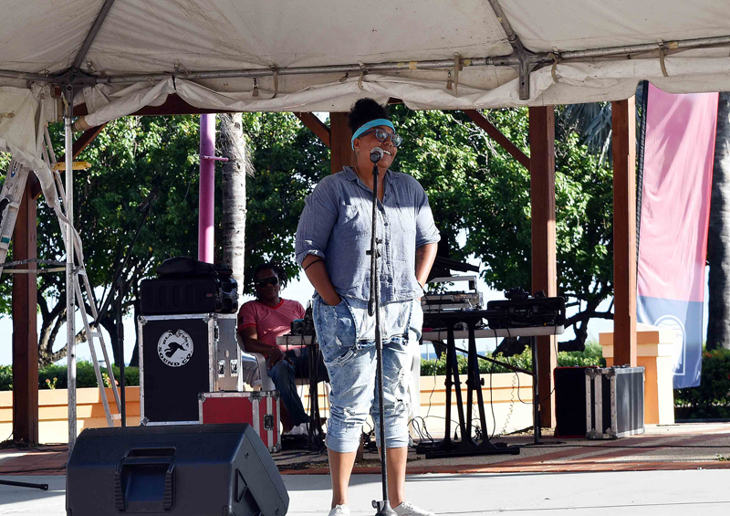 Carifesta 2017 Yesha Townsend, Pelican Village e