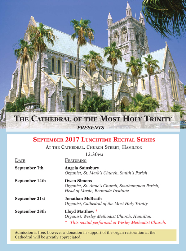 Cathedral September Lunchtime Recitals.ai
