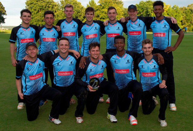 Delray Rawlins and Sussex team Bermuda Aug 2017