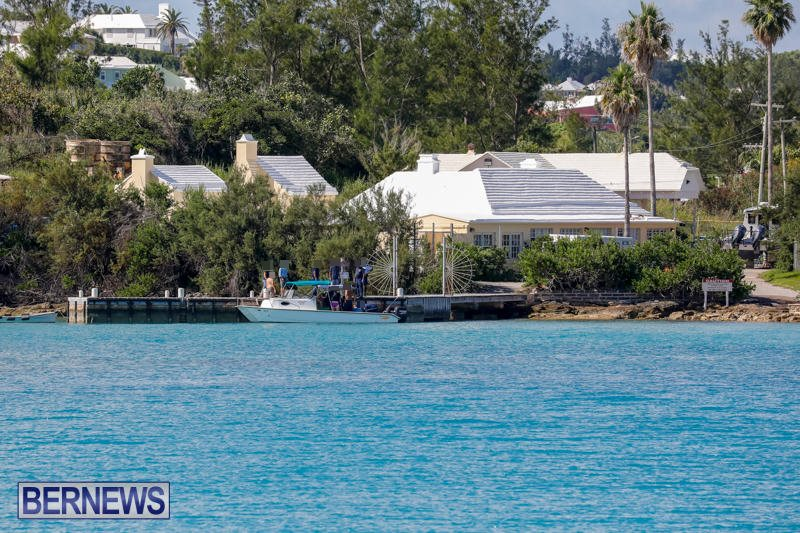 Diver Conservation Services Boat Fisheries Dock Bermuda, August 29 2017_6860