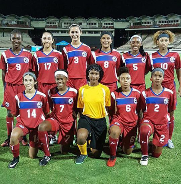 Football Women's U17 Bermuda Aug 2017 (1)