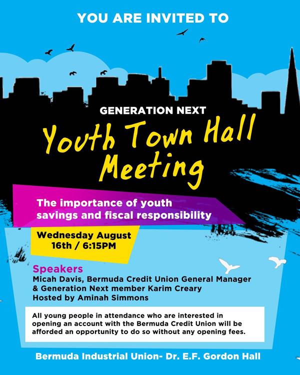 Generation Next meeting Bermuda Aug 2017