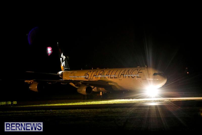 Lufthansa Flight Diversion Bermuda, August 1 2017_6701