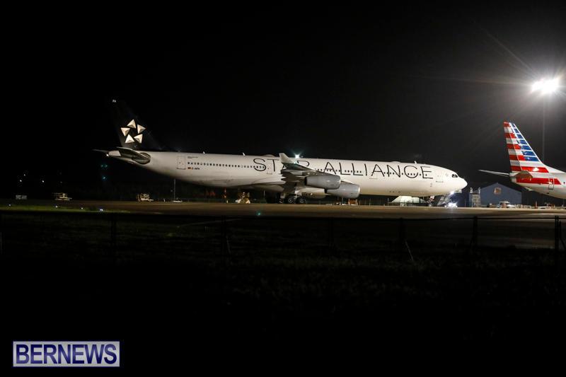 Lufthansa Flight Diversion Bermuda, August 1 2017_6800