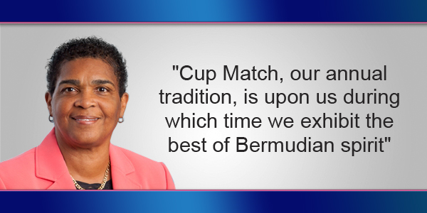 Patricia Gordon-Pamplin Bermuda August 2 2017