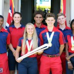 Queens Baton Bermuda Visit August 2 2017 (15)